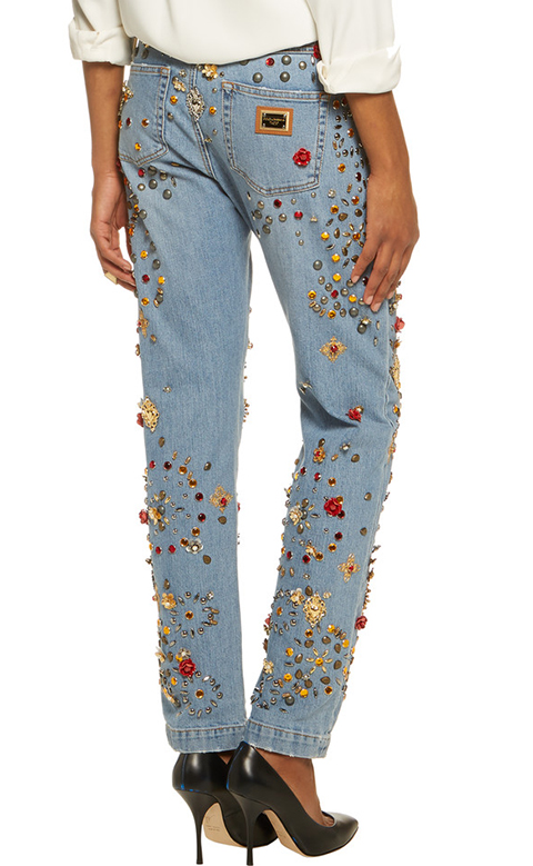 hideous embellished jeans 2 dolce and gabbana